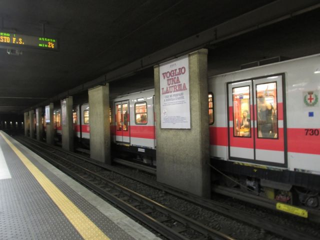 Metropolitana Cadorna a Milano - Movingitalia.it