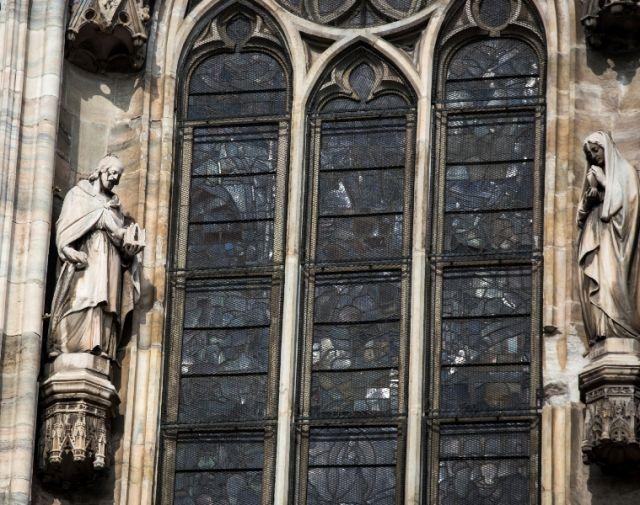 Statue nella cattedrale di Milano - Movingitalia.it