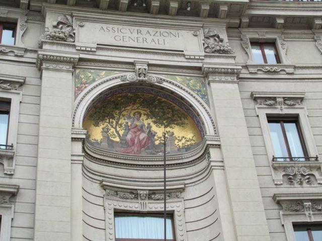 Dipinto su palazzo a Milano - Movingitalia.it