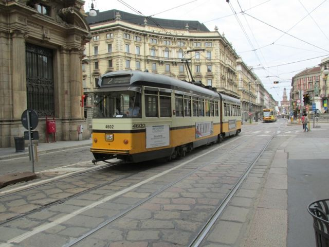 Tram a Milano - Movingitalia.it