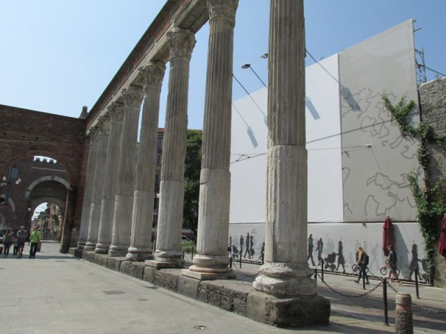 Colonne romane a Roma - Movingitalia.it