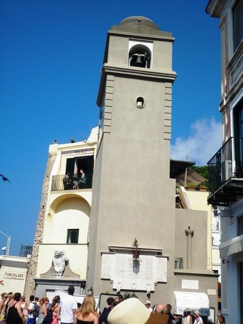Campanile a Capri - Movingitalia.it
