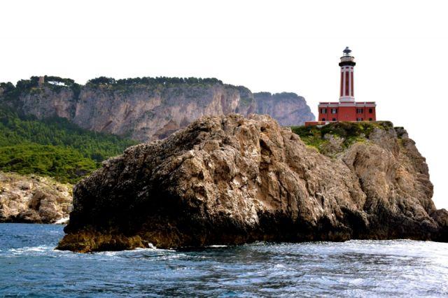 Faro sull'isola di Capri