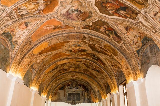 Dipinti nella Chiesa di San Lorenzo Maggiore a Napoli - Movingitalia.it