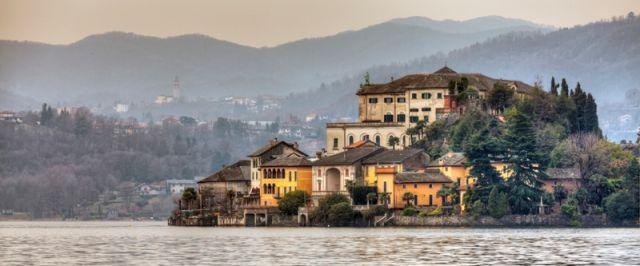 Isola San Giulio - Novara