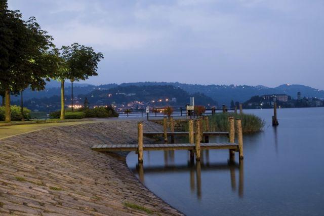 Lago d'Orta o Cusio è un lago prealpino del Piemonte
