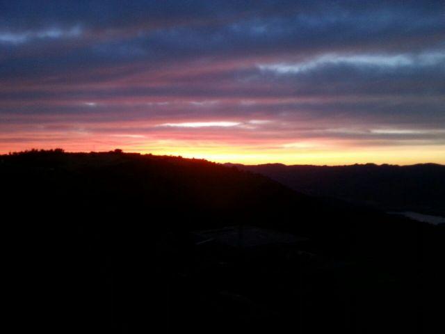 Tramonto dalla frazione di Sant'Anna - Movingitalia.it