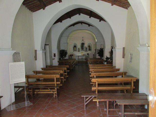 Interno della Chiesa a Orosei