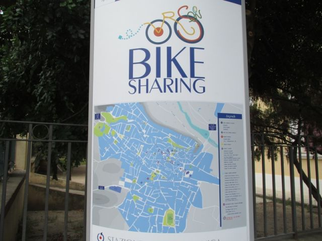 Mappa Bike Sharing Orosei - Movingitalia.it