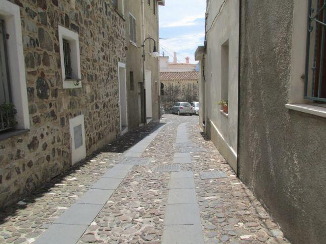 vie del centro storico di Orosei