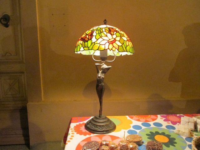 Lampada in vetro colorato Torpe