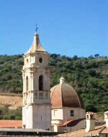 Il campanile a Bari Sardo
