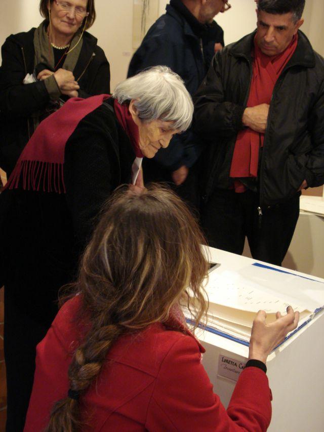 Maria Lai di Ulassai - Movingitalia.it
