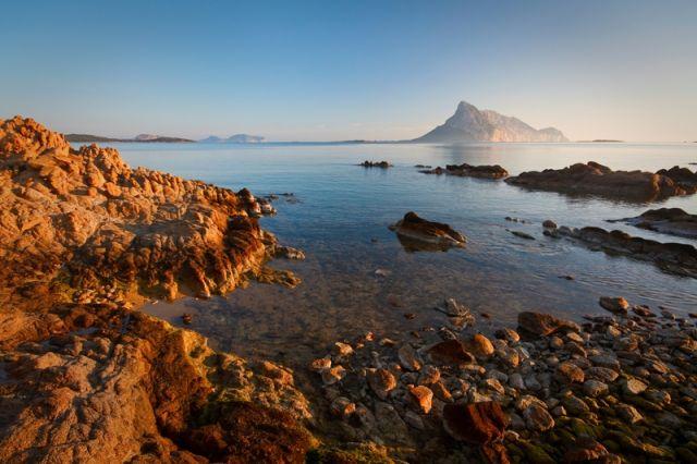 Costa della Sardegna a Tavolara