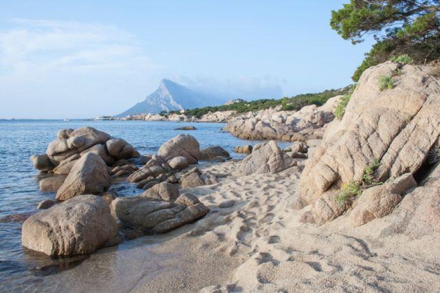 Foto dell'Isola di Tavolara in Sicilia