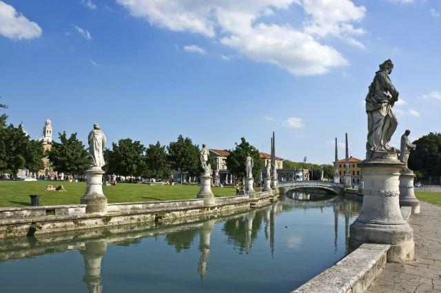 Piazza Pubblica canale Padova - Movingitalia.it