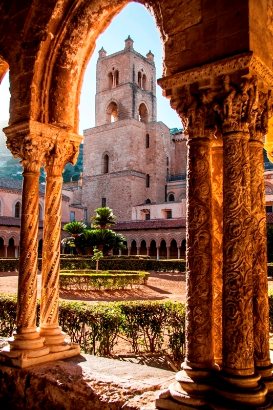 Arco della cattedrale di Monreale