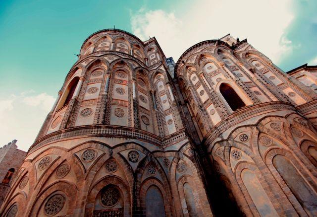 Facciata della cattedrale di Monreale