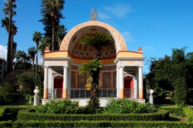 Villa Giulia e Parco a Palermo in Sicilia