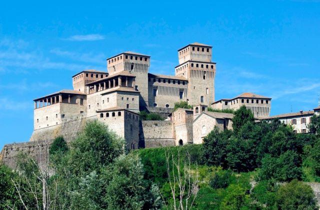 Castello di Torrechiara edificio medievale, Parma