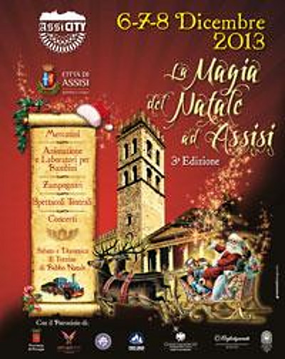 MERCATINI DI NATALE ASSISI - Movingitalia.it