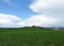 Paesaggio di cittá di castello - Movingitalia.it