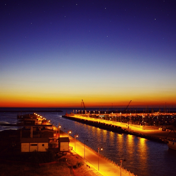 Porto di Pescara in Abruzzo - Movingitalia.it