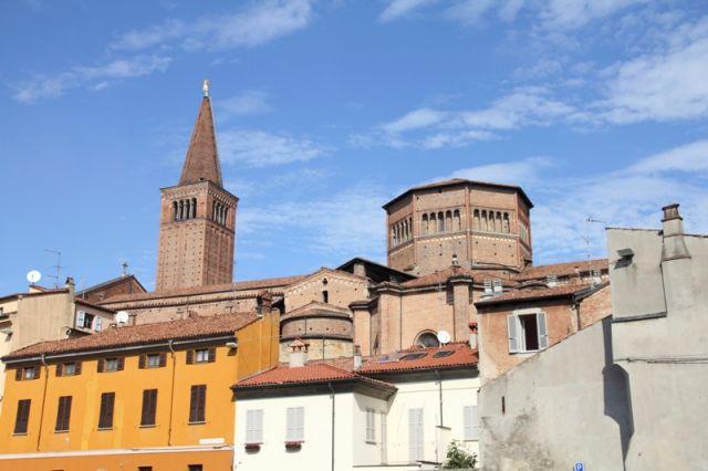 Foto panoramica Piacenza