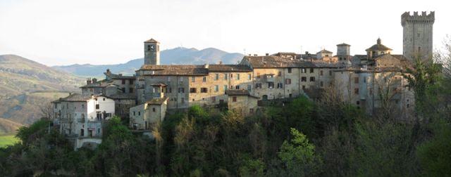 Foto panoramica della città di Piacenza