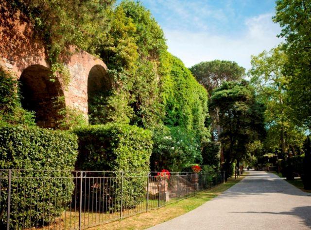 Giardini a Pisa in Toscana