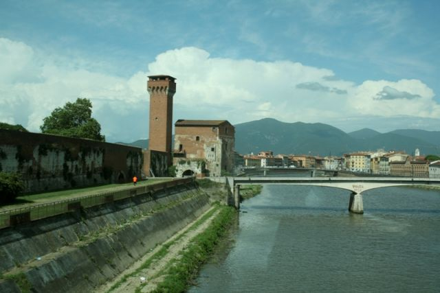 Fiume ombrone a Pistoia - Movingitalia.it