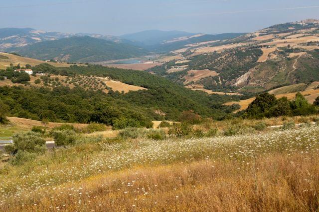 Panorama paesaggi Acerenza - Movingitalia.it