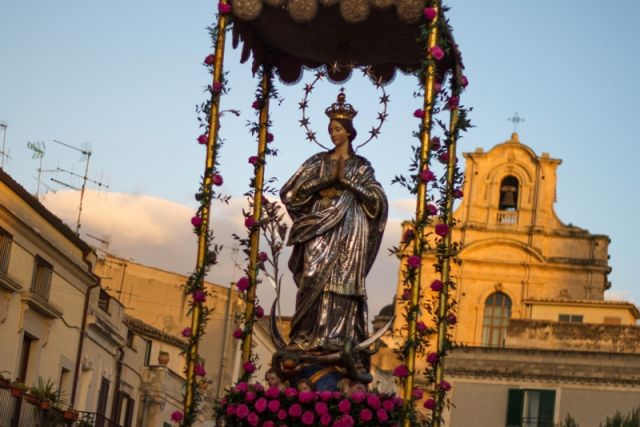 Festa dell'Immacolata Concezione, Scicli - Movingitalia.it