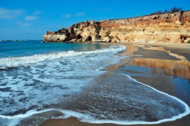 Spiaggia di Anzio nel Lazio