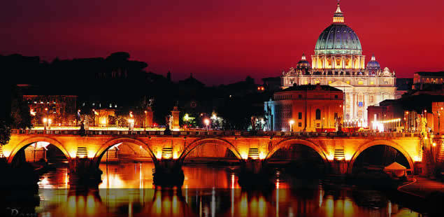 Ponte Sisto di notte Roma - Movingitalia.it