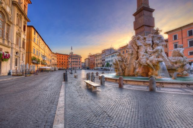 Piazza Navona Roma - Movingitalia.it