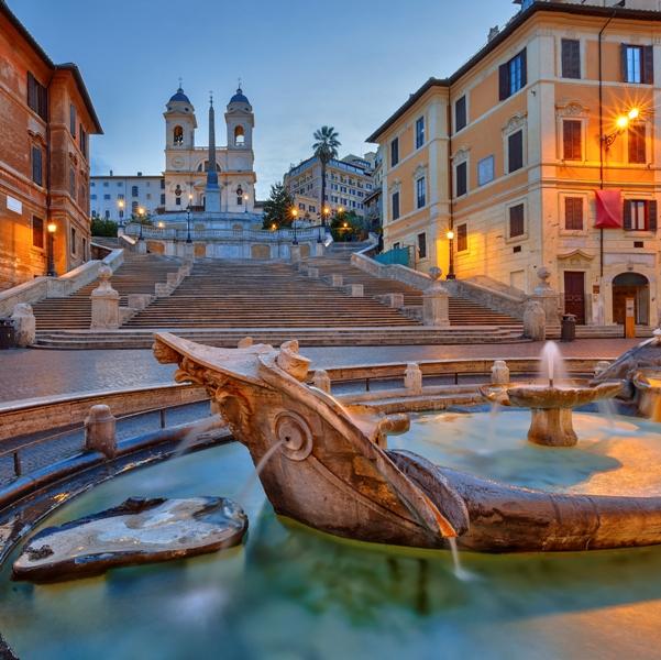 Piazza di Spagna Roma - Movingitalia.it