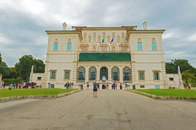Museo villa Borghese a Roma