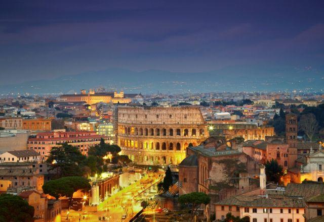 Paesaggio Colosseo a Roma