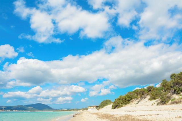 Foto del cielo a Maria Pia Spiaggia Alghero