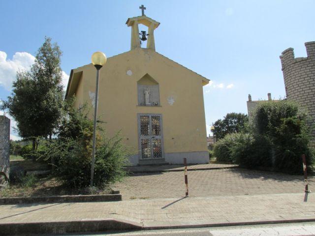 strada per Ozieri chiesa