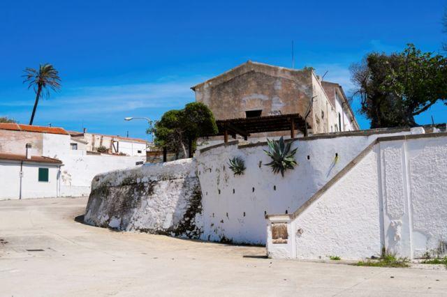 Casetta nell'isola dell'Asinara in Sardegna