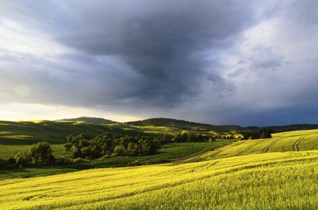 Foto panoramica di Pienza e Colline - Movingitalia.it