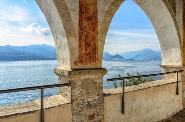 Archi nel Monastero di Santa Caterina in Lombardia