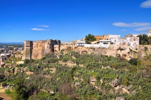 Vista panoramica di Massafra, Puglia - Movingitalia.it