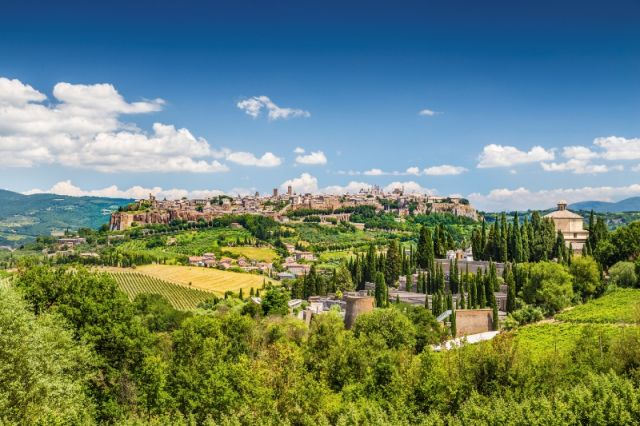 Colline Umbria a Orvieto - Movingitalia.it