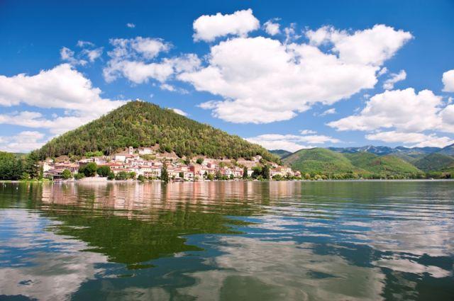 Lago di Piediluco a Terni