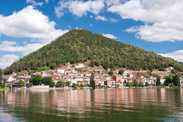 Lago di Piediluco in Umbria