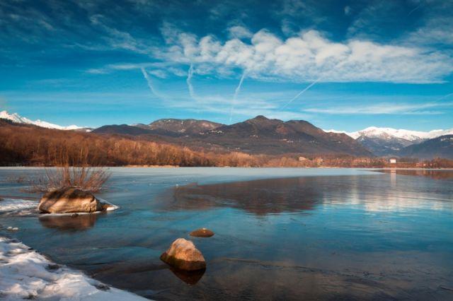 Parco naturale in inverno Piemonte - Movingitalia.it