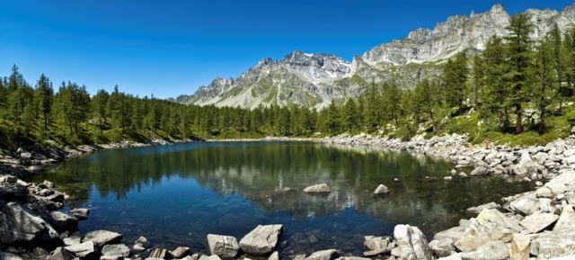 Lago Nero in Piemonte - Movingitalia.it